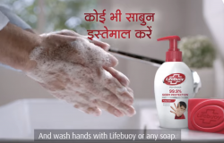 Lifebuoy's PSA campaign has focused on the importance of handwashing