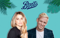 Host Vogue Williams has 868,000 Instagram followers while first guest Jamie Laing has nearly a million